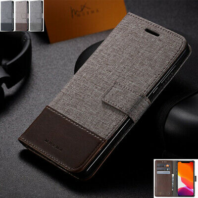 AU14.89 • Buy For OnePlus 6 6T 7 7 8 8Pro Luxury Magnetic Flip Leather Wallet Stand Case Cover