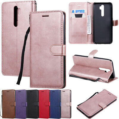 AU13.89 • Buy For OPPO AX5 AX7 A5 A9 2020 Magnetic Flip Leather Wallet Card Stand Case Cover