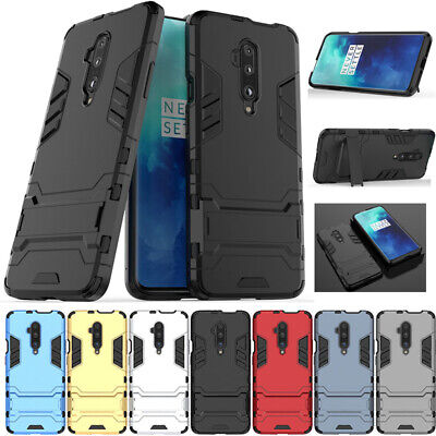 AU14.58 • Buy For OnePlus 5 6 6T 7 7T Pro Luxury Shockproof Hybrid Armor Stand Slim Case Cover