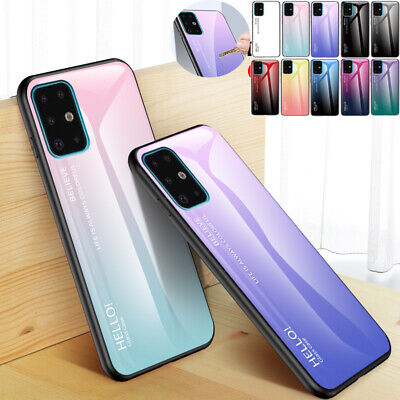 AU14.58 • Buy For Samsung S7 S10+ J8 A8 2018 Shockproof Tempered Glass Hybrid TPU Case Cover
