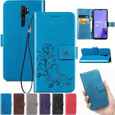 AU14.88 • Buy For OPPO AX5 AX7 R11s R15 R17 A5 A9 2020 Magnetic Leather Wallet Flip Case Cover