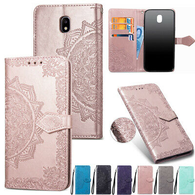 AU11.88 • Buy For Samsung Galaxy J3 J5 J7 Pro 2017 Magnetic Leather Wallet Stand Case Cover
