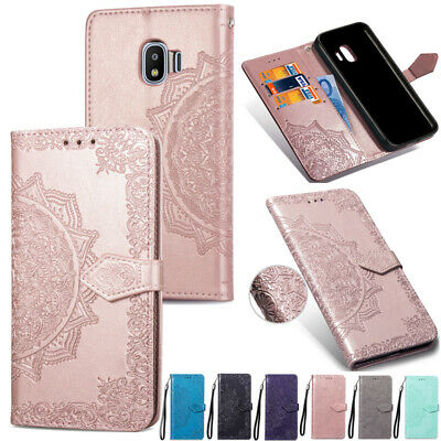 AU12.28 • Buy For Samsung Galaxy J2Pro 2018 Magnetic Flip Leather Wallet Card Stand Case Cover