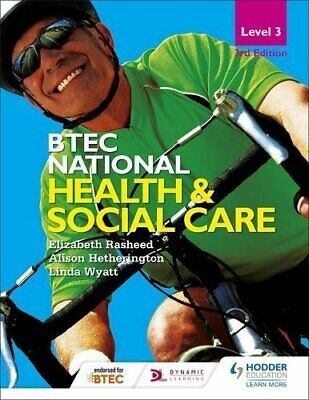 £13.99 • Buy BTEC National Level 3 Health And Social Care 3rd Edition (BTE... By Wyatt, Linda