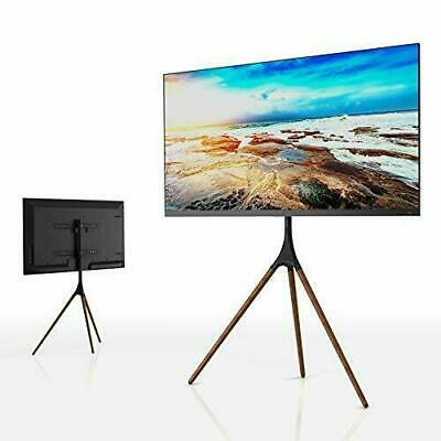 Artistic Easel Studio TV Display Stand TV Mount With Swivel And Tripod Base • 125£