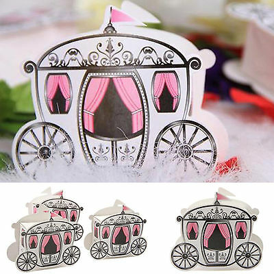 50/100/200PCS Wedding Candy Boxes Sweets Favors Gift For Guests Table Decor UK • 11.58£