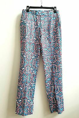 $28.99 • Buy Mens New Suslo Couture Christmas Candy Cane Slim Fit Dress Pants Size 32 X 31