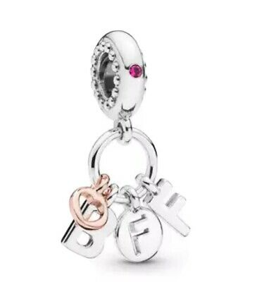 Best Friend Pandora Fitting Silver 925 Charm With Cleaning Cloth • 12.99£