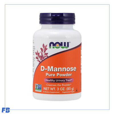 AU34.95 • Buy Now Foods - D-Mannose Organic Pure Powder, Healthy Urinary Tract, 85g