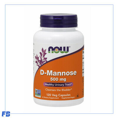 AU34.95 • Buy Now Foods - D-Mannose, Healthy Urinary Tract, 500mg 120VCaps