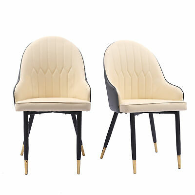 AU159.99 • Buy Levede 2x Dining Chairs Kitchen Steel PU Leather French Provincial Seat Home