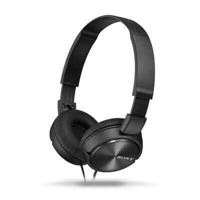 AU54.95 • Buy Sony MDR-ZX310AP Wired Stereo On-Ear Headphones/Headset For Smartphones W/Mic BK