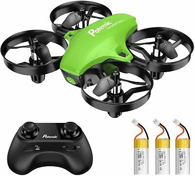 AU107.78 • Buy Potensic A20 Mini Drone For Kids, 3 Adjustable Speeds, Altitude Hold, Headless
