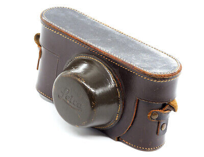 Leica Leather Case For Leica Iii (except Iiig) - Excellent! • 99.99£