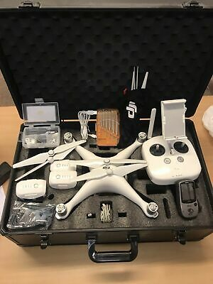 AU1960.96 • Buy DJI Phantom 4 Drone, Carry Case, Backpack 3 Batteries - Fully Loaded