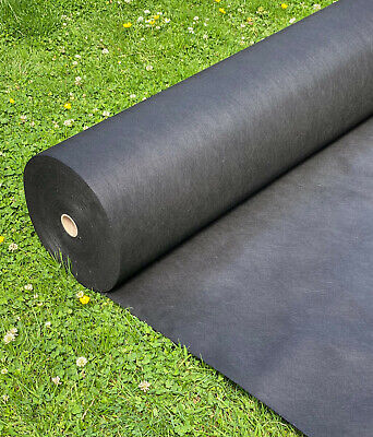 £18.49 • Buy 1m Wide Weed Control Fabric Ground Cover Membrane Garden Landscape + Fixing Pegs
