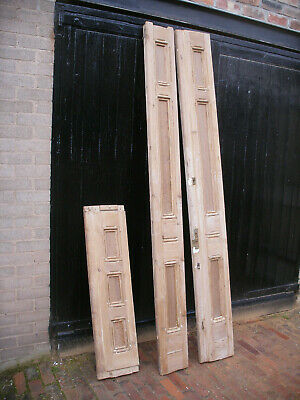 £80 • Buy Large And Heavy Reclaimed Victorian Stripped Pine Door Frame.