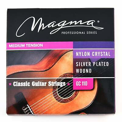 $ CDN8.56 • Buy Magma Classical Guitar Strings Normal Tension Special Nylon - Silver Plated Copp