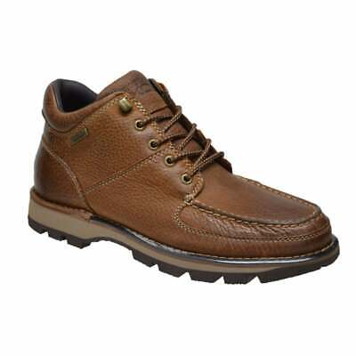 Rockport Umbwe Ii Chukka Mens Waterproof Boots Uk Size 9 Brown Tan Leather • 109.95£