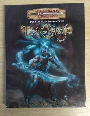 AU120.07 • Buy Dungeons And Dragons : Tome Of Magic: Pact, Shadow And True Name Magic V3.5