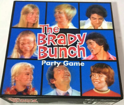 THE BRADY BUNCH Party Game BRAND NEW Sealed 3D Box TV Show 60s Fun Family Game • 13.61£