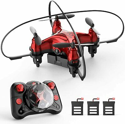 AU74.96 • Buy Holyton HT02 Mini Drone For Kids Beginners, Easy Pocket RC Quadcopter With