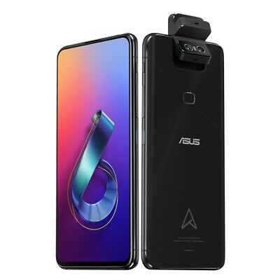 AU1079 • Buy New Asus Zenfone 6 Edition 30 (ZS630KL) 6.4  12GB + 512GB Unlocked Phone - Black