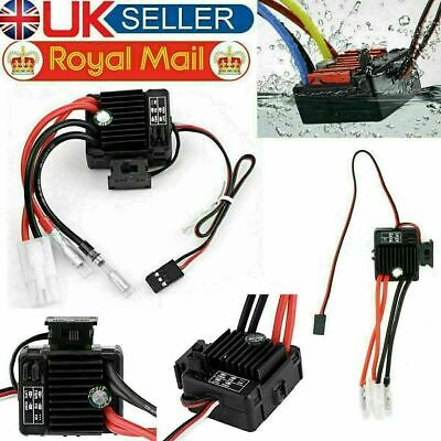 £11.99 • Buy Double Way 320A ESC Brush Motor Speed Controller And Fan For RC Car Boat Model