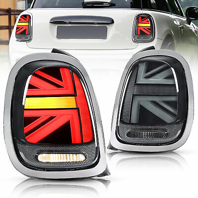 AU569.99 • Buy VLAND Tail Light For MINI Cooper F55 F56 F57 3D 14-19 Union Jack With Sequential