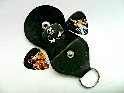 $ CDN7.03 • Buy NEW Three  X  FREDDIE MERCURY // QUEEN  Guitar Picks And  Keyring Pick Holder