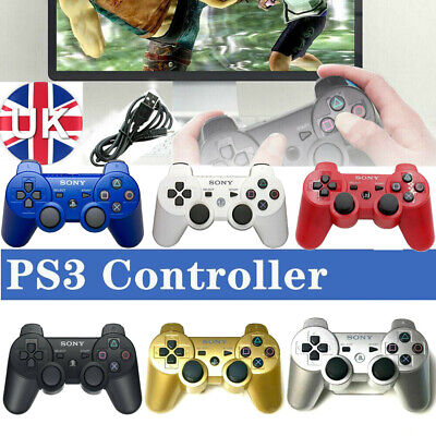 PS3 Controller PlayStation 3 DualShock 3 Wireless SixAxis Controller GamePad New • 11.78£