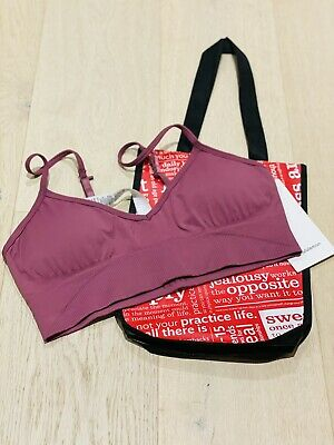 $ CDN41.26 • Buy Lululemon Ebb To Street Bra PLMF Size 12 (CAN) / 16 (AUS)