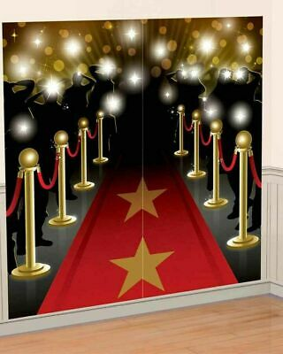 £6.52 • Buy Hollywood Glitz & Glam Scene Setter New Years Eve Red Carpet Party Decoration