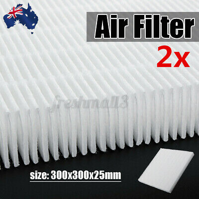 AU28.99 • Buy 2x DIY Air Filter HEPA Dust Filter For Air Conditioner Cold  Air Cleaner