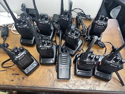 $ CDN344.20 • Buy Retc 15 2 Way Radio UHF  & Charger Lot Of 10 And 7 Earpieces