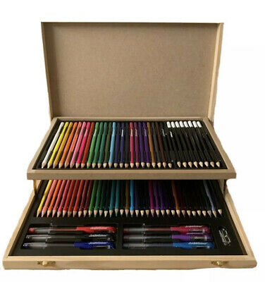 Personalised Arts And Crafts Box (75PIECE SET) *Christmas Gift* • 26.99£