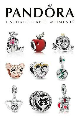 New Authentic Pandora Silver S925 ALE Disney Charm + Free Gift Pouch • 14.99£