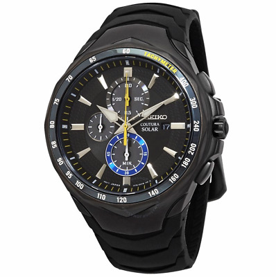 $ CDN344.43 • Buy SEIKO - COUTURA SOLAR CHRONOGRAPH WATCH- SSC697 - Brand New