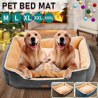 Dog Beds Pet Cushion House Soft Warm Bed Kennel Blanket Extra Large XXL • 15.99£