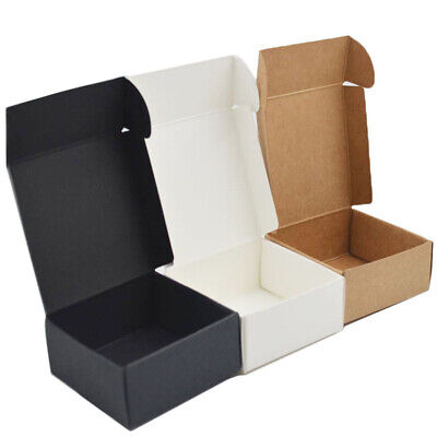 10pcs Kraft Paper Box Candy Gift Package Wrapping Storage Box Wedding Supplies • 5.54£