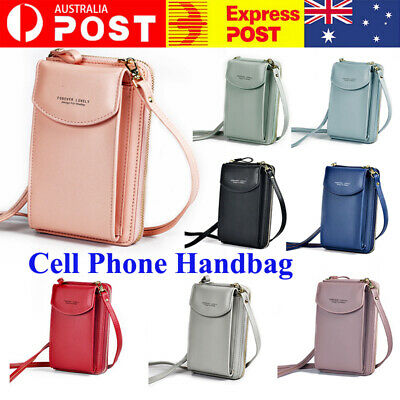 AU17.28 • Buy Small Cross-body Cell Phone Handbag Case Shoulder Bag Pouch Purse Wallet Lady❤AU