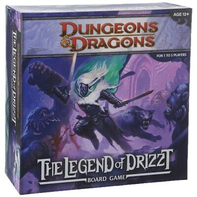 AU98.99 • Buy D&D The Legend Of Drizzt Board Game