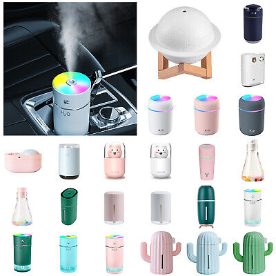 AU11.55 • Buy Aroma Aromatherapy Diffuser USB Essential Oil Ultrasonic Air Humidifier Purifier