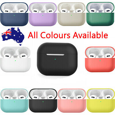 AU4.98 • Buy For Apple AirPods Pro Case Airpods 3 Case Shockproof Silicone Cover Slim Skin