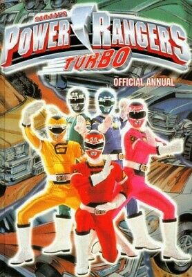 £5.49 • Buy Official Power Rangers Turbo Annual Hardback Book The Cheap Fast Free Post