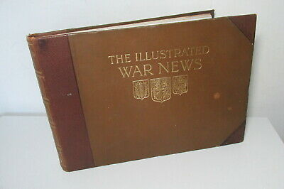 The Illustrated War News - Great War, Volume 4, April To July 1915, Leather • 39.99£