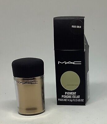 MAC Bright Rose Gold Pigment - Full Size - 4.5g - New In Box SOLD OUT! • 17.50£