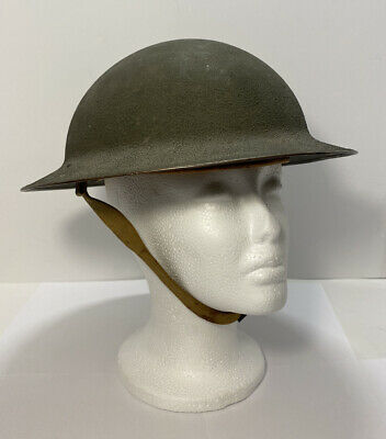 $549.95 • Buy **RARE ** Original Pre Or Early WWII US M1917A1 Helmet W Box Stitched Chinstraps