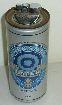 £16.21 • Buy Marksman Larger Beer Can Lighter Mansfield Brewery