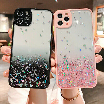 AU12.12 • Buy Cute Bling Glitter Clear Case Cover For IPhone 12 Pro Max Mini 8 Plus 11 XS Max